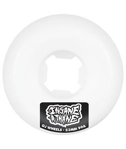 OJ Insaneathane Hard Line 99a Skateboard Wheels