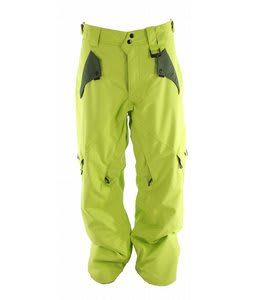 Oakley Amplier Snowboard Pants Enamel Mint/Dark Forest