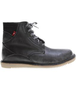 Oliberte Gando Shoes Black/Grey Pullup