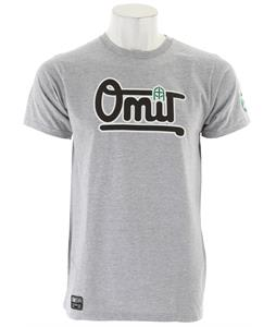 Omit Bases Loaded T-Shirt Grey Heather