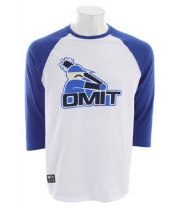 Omit Black Socks Raglan True Blue