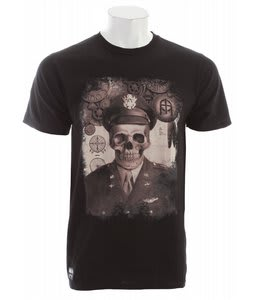 Omit Bomber Pilot T-Shirt Black