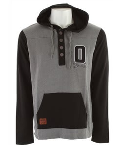 Omit Letterrack Pullover Hoodie Charcoal Heather