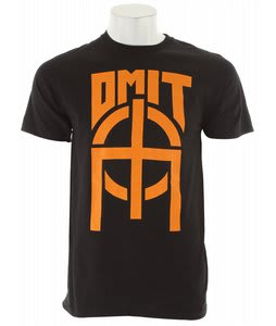 Omit The Basic T-Shirt Black/Orange