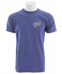 Omit Trade Post 2 T-Shirt Blue Heather