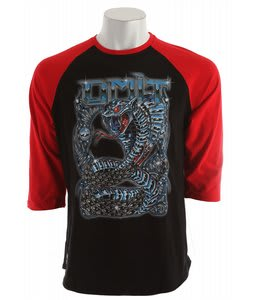 Omit Ultimate Enemy Raglan T-Shirt Red