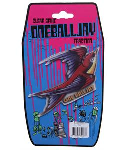 One Ball Jay Clear Spike Sparrow Snowboard Stomp Pad