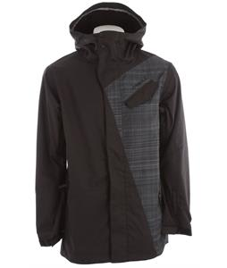 O'Neill Line-Up Snowboard Jacket Black Aop