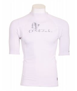 O'Neill Rg8 S/S Crew Rashguard White