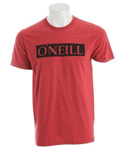 O'Neill All Day T-Shirt Heather Cardinal