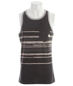 O'Neill Chalkboard Tank Heather Black