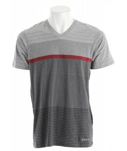 O'Neill Fragment V-Neck Shirt Charcoal