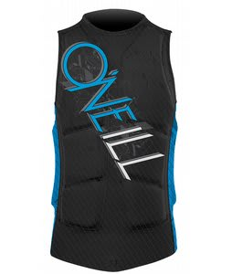 O'Neill Gooru Padded Wakeboard Vest Carbon Black/Bright Blue