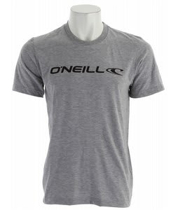 O'Neill Lock Up Hybrid T-Shirt Heather Grey