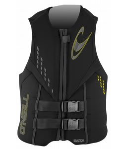 O'Neill Reactor 3 USCG Wakeboard Vest Black/Black/Black