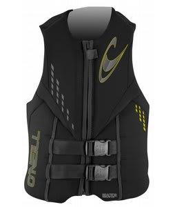 O'Neill Reactor 3 USCG Wakeboard Vest Black/Black/Black