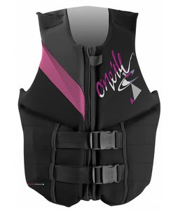 O'Neill Reactor 3 USCG Wakeboard Vest Black/Pet/Graphite
