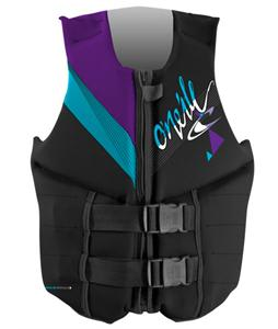 O'Neill Reactor 3 USCG Wakeboard Vest Black/Turquoise/Uv