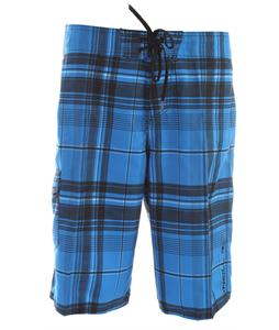 O'Neill Santa Cruz Plaid Boardshorts Blue