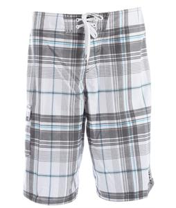 O'Neill Santa Cruz Plaid Boardshorts White