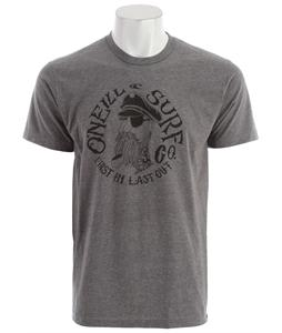 O'Neill Sink Ship T-Shirt Medium Heather Grey