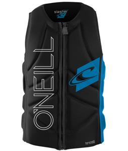 O'Neill Slasher Comp Wakeboard Vest Black/Brite Blue
