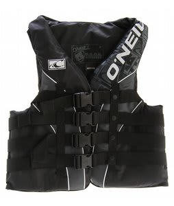 O'Neill Superlite USCG Wakeboard Vest Black/Metallic/Black-White