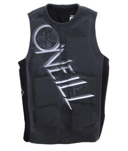 O'Neill Gooru Padded Comp Wakeboard Vest Graphite/Black