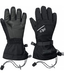 Outdoor Research Adrenaline Ski Gloves Black