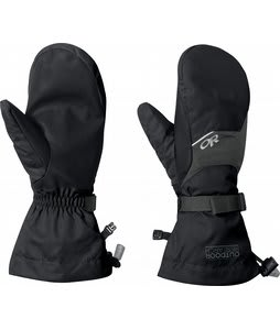 Outdoor Research Adrenaline Ski Mittens Black