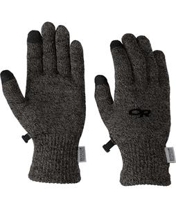 Outdoor Research Biosensor Glove Liners Charcoal