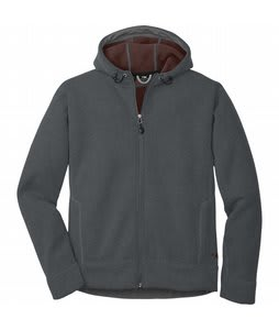 Outdoor Research Exit Hoody Fleece Pewter/Brick