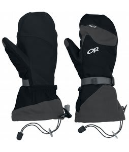 Outdoor Research Meteor Ski Mittens Black/Charcoal
