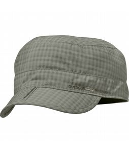 Outdoor Research Radar Pocket Hat Sandstone Check