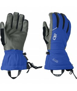 Outdoor Research Southback Ski Gloves Glacier/Charcoal