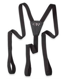 Outdoor Research Suspenders Black
