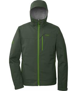 Outdoor Research Transfer Hoody Softshell Jacket Evergreen