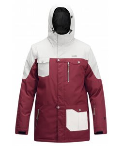 Orage B-Dog Ski Jacket Heather Burgundy