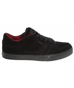 Osiris Chino Low Skate Shoes Black/Red/Rr-Aultz