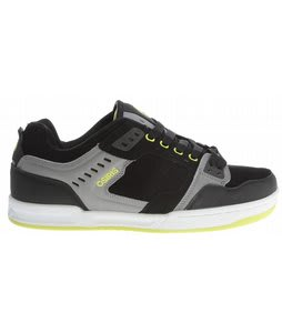 Osiris Cinux Skate Shoes Black/Charcoal/Lime