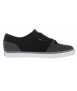 Osiris Decay Skate Shoes Charcoal/Black/Yellow