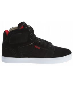 Osiris Effect Skate Shoes Black/Cream/Red