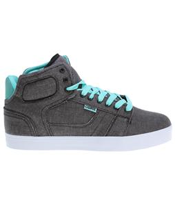 Osiris Effect Skate Shoes Black/Opal/White