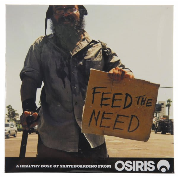 Feed The Need Skateboard DVD
