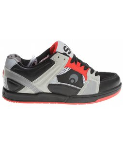 Osiris Jos1 Skate Shoes Black/Cement/Red