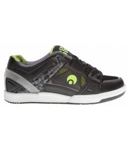 Osiris JOS1 Skate Shoes Black/Lime/Sticker