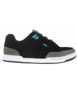 Osiris Lennix Skate Shoes Black/Grey/Rider Revolt Pierre Luc Gagnon