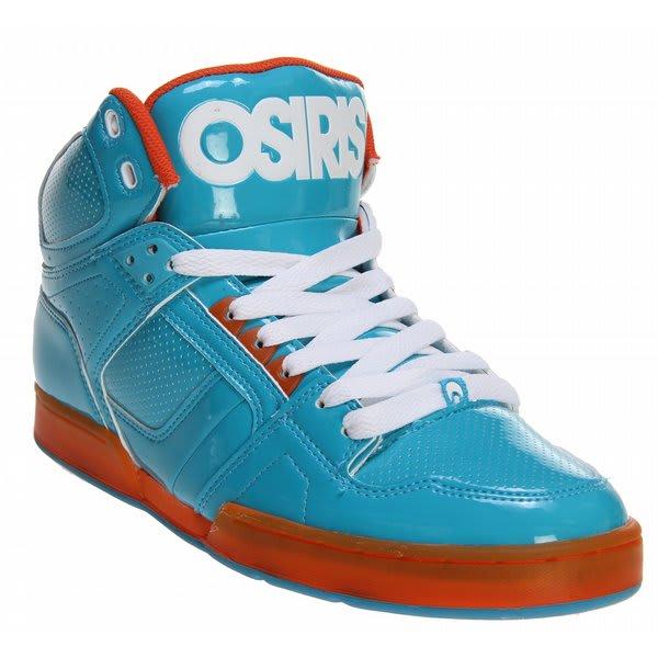 Blue and Orange Osiris Shoes