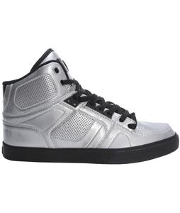Osiris NYC 83 VLC Skate Shoes Silver/Silver/Black