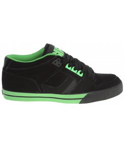Osiris NYC 83 Mid Vlc Skate Shoes Black/Lime/Black